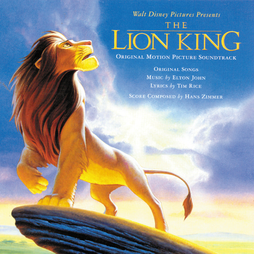 Elton John-Can You Feel the Love Tonight (End Title/ From The Lion King/Soundtrack Version) 드럼악보
